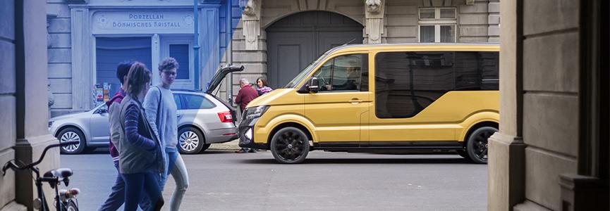 voici la premi re voiture lectrique d auto partage au monde volkswagen group france. Black Bedroom Furniture Sets. Home Design Ideas